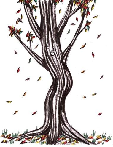 dancing tree - web